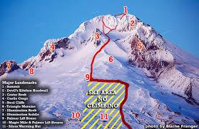 Mt. Hood Map